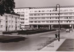 Weiße Stadt, Aroser Allee, Bauteil Salvisberg, Fotografie um 1950 © Museum Reinickendorf