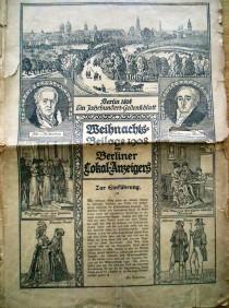 Berlin 1808. Ein Jahrhundertgedenkblatt