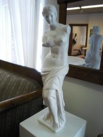 Biedermeier-Statue