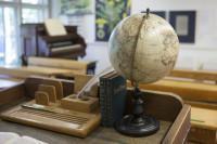Historisches Klassenzimmer, Foto Patricia Schichl © Museum Reinickendorf