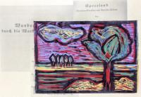 Susanne Haun: Zwischen Straupitz und Laasow, 2019, Linolschnitt, 15 cm x 21 cm