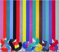 Cathy Jardon, Capture, 2016, Öl auf Leinwand, 200x270cm